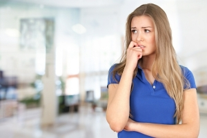 Hypnotherapy for Anxiety in Wolverhampton - Anxious Woman