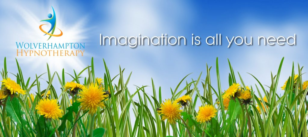 clinical hypnotherapy wolverhampton - imagination is all you need banner